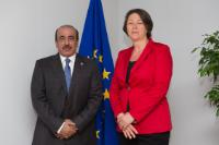 Visit of Jassim Saif Ahmed Al Sulaiti, Qatari Minister for Transport and Communications, to the EC