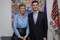 Visit of Costin Borc, Romanian Deputy Prime Minister, to the EC