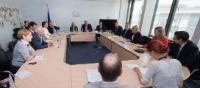 Visit of Members of the Bavarian Parliament to the EC