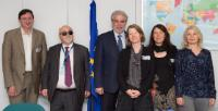 Visit of Yannis Vardakastanis, President of the European Disability Forum (EDF), to the EC