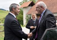 Visit of Phil Hogan, Member of the EC, to Slovenia