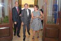 Visite de Johannes Hahn, membre de la CE, à Malte