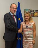 Visit of Marie-Louise Rönnmark, Mayor of Umeå and Alternate of the Committee of the Regions (CoR), to the EC