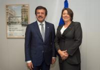 Visit of Nihat Zeybekçi, Turkish Minister for Economy, to the EC