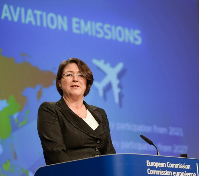 Press conference by Violeta Bulc, Member of the EC, on the outcome of the International Civil Aviation Organisation (ICAO) talks to tackle aviation emissions