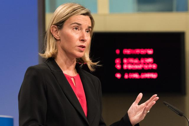 Press conference by Federica Mogherini, Vice-President of the EC, on the implementation of the Partnership Framework with third countries to more effectively manage migration together