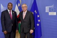 Visit of Faustin-Archange Touadéra, President of the Central African Republic, to the EC
