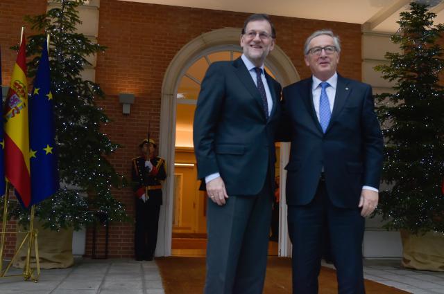 Visit of Jean-Claude Juncker, President of the EC, to Spain