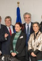 Visit of Filippo Lombardi, Chair of the Ad Hoc Committee on Migration of the Organization for Security and Co-operation in Europe Parliamentary Assembly (OSCE), to the EC