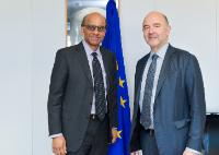 Visit of Tharman Shanmugaratnam, Singaporean Deputy Prime Minister and Minister for Economic and Social Policies, to the EC