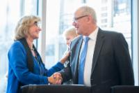 Visit by Neven Mimica, Member of the EC, to Berlin