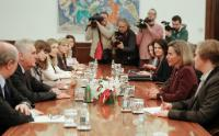Visit by Federica Mogherini, Vice-President of the EC, to Serbia