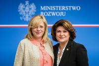 Visit by Corina Creţu, Member of the EC, to Poland