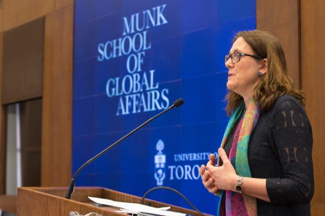 Visit by Cecilia Malmström, Member of the EC, to Canada