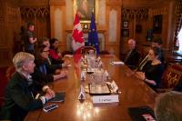 Visit by Cecilia Malmström, Member of the EC, to Canada