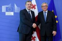 Visit of Giorgi Kvirikashvili, Georgian Prime Minister, to the EC