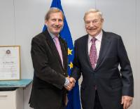 Visit of Georges Soros, Founder and Chairman of the Open Society Foundations, to the EC