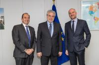 Visit of Athanassios Savvakis, President of the Federation of Industries of Northern Greece (F.I.N.G.), to the EC