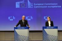 Press conference by Dimitris Avramopoulos, Member of the EC, on the state of play of temporary internal Schengen borders controls and on visa reciprocity