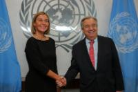 Visit by Federica Mogherini, Vice-President of the EC, to the USA