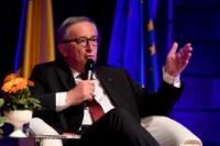 Citizens' Dialogue in Romania with Jean-Claude Juncker, President of the EC and Corina Creţu, Member of the EC