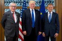 Réunion des dirigeants de l'UE et des États-Unis, 25/05/2017