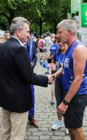 Launch of the 20 km of Brussels, under the patronage of Günther Oettinger, Member of the EC