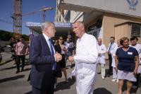 Visite de Vytenis Andriukaitis, membre de la CE, en Pologne