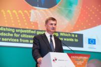 Visite d'Andrus Ansip, vice-président de la CE, à Malte