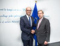 Visit of Angelino Alfano, Italian Minister for Foreign Affairs, to the EC