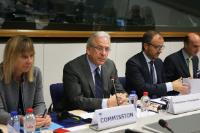 Participation of Dimitris Avramopoulos, Member of the EC, in a meeting of the EU Internet Forum