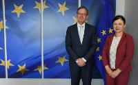 Visit of Steven Maijoor, Chair of the ESMA, to the EC