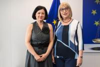 Visit of Tsetska Tsacheva, Bulgarian Minister for Justice, to the EC