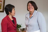 Visite de Fang Liu, secrétaire générale de l'Organisation de l'aviation civile internationale (OACI), à la CE