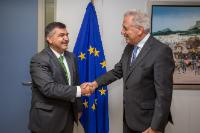 Visit of Faruk Kaymakcı, Turkish Permanent Representative to the EU, to the EC