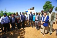 Visite de Christos Stylianides, membre de la CE au Soudan