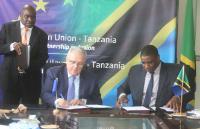 Visite de Neven Mimica, membre de la CE, en Tanzanie