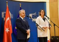 Participation of Violeta Bulc, Member of the EC, at the High level dialogue with Turkey