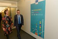 Visit of Mailis Reps, Estonian Minister for Education and Research, to the EC