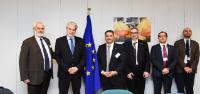 Visit of members of American Hellenic Educational Progressive Association (Ahepa), to the EC