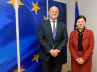 Visit of  Ferdinand Grapperhaus, Dutch Minister for Justice and Security, to the EC
