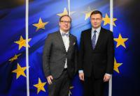 Visit of Magnus Berntsson, President of the Assembly of European Regions, to the EC