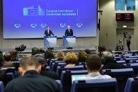 Conférence de presse de Michel Barnier, négociateur en chef chargé de la préparation et de la conduite des négociations avec le Royaume-Uni au titre de l'article 50 du TUE