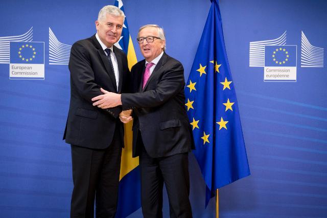 Visit of Dragan Čović, Chairman of the Presidency of Bosnia and Herzegovina, to the EC