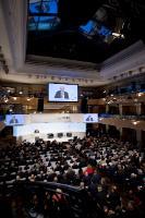 Visite du Jean-Claude Juncker, Président et la CE, et membres de la CE en Allemagne