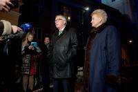 Visite de Jean-Claude Juncker, président de la CE, en Lituanie
