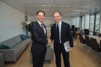 Visit of Fabio Gallia, CEO of Cassa Depositi e Prestiti (CDP), to the EC