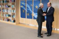 Visit of Philippe Close, Mayor of Brussels, to the EC