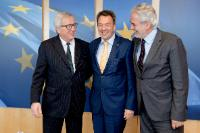 Visit of Peter Maurer, President of the ICRC, to the EC