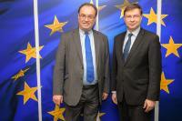 Visite de Andrew Bailey, directeur général de l'Autorité de conduite financière (FCA), à la CE
